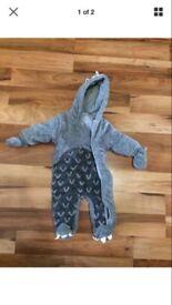 Baby pram suit 0-3 months