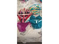 NEW WITH TAGS Swimming Bikinis size 10 -12