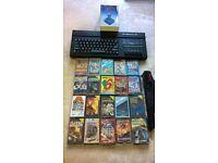 Sinclair ZX Spectrum 128 Gaming computer