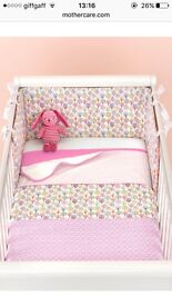 Mothercare Cotbed Set