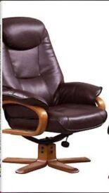 Debenhams armchair and stool