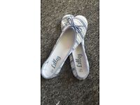 Lovely ladies flat summer shoes