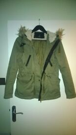 used but in good condition - h&m hooded parka