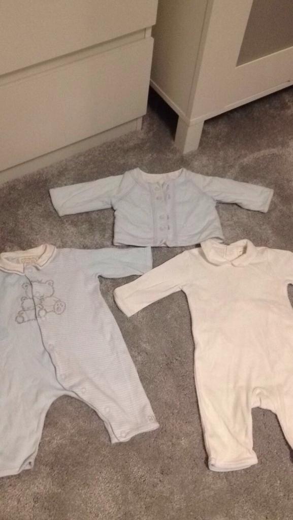 Emile et rose designer baby boy 1 month bundle