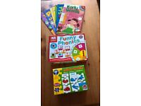 Early learning Phonoc books and games