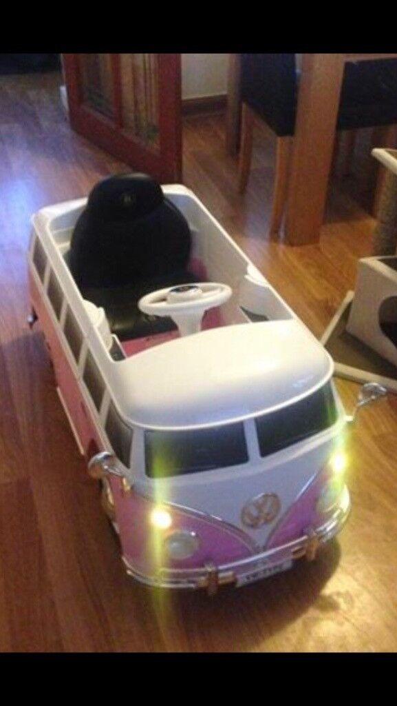 Pink Motorised VW Camper. Pick Up Rutherglen