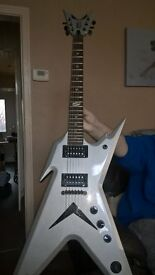 dean razor back guitar practically brand new