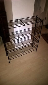 Antique Metal Bookcase £30