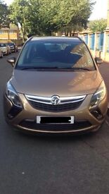 NEW SHAPE ZAFIRA TOURER AUTO DIESEL 14 PLATE VER VERY LOW MILEAGE