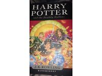 Harry Potter And The Deathly Hallows, First edition. (Hardback)