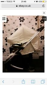 My babiie travel system pushchair plus carseat
