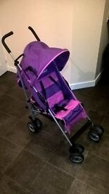 Dimples pushchair/buggy inc raincover excellent condition