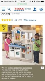 Little Tikes Kitchen - Inside & Outside
