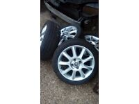 Vauxhall 16 inch alloy wheels