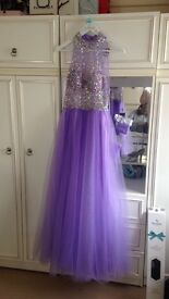 Stunning dress made to fit size 6/8