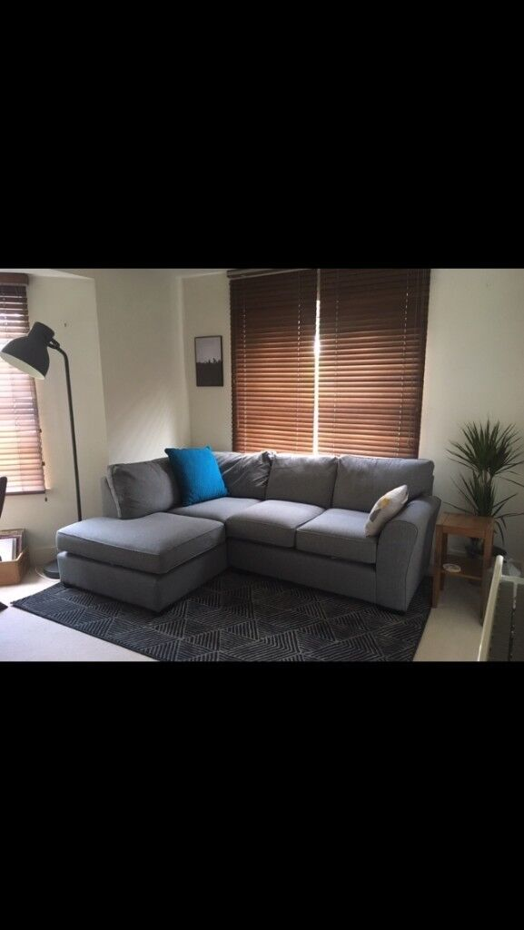 Admirable Second Hand Next Michigan Grey Corner Sofa For Sale In Southampton Hampshire Gumtree Machost Co Dining Chair Design Ideas Machostcouk