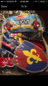 New Melissa & Doug Knight Costume-Ages 3-6