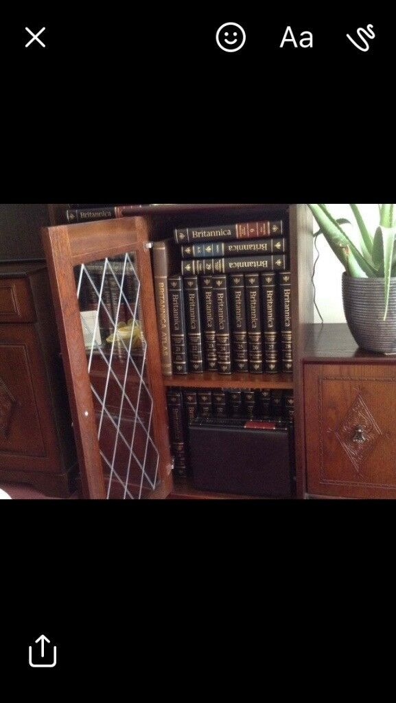 Immaculate set of 33 Britannica Encyclopaedia