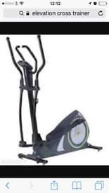 Elevation 2 in 1 cross trainer