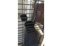 Avery Bird Cage on wheels