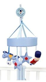 Cot mobile toy solider