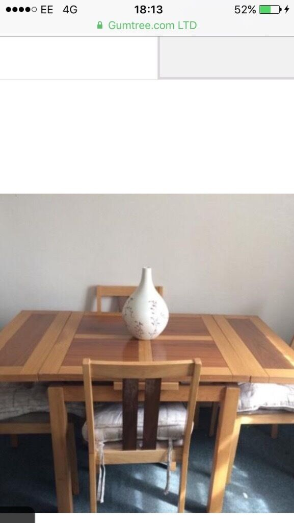 Free Delivery - Dining/Kitchen Table and 4 chairs