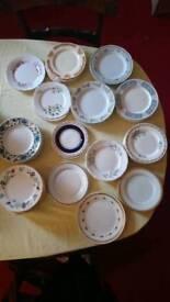 Assorted Vintage tea/ cake plates x 68