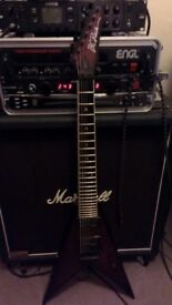 BC Rich JRV7 (or swap V, Les Paul, Explorer - Jackson, ESP, LTD, Gibson, Epiphone, Dean or Schecter)