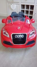 KIDS ELECTRIC RIDE ON CAR - ONLY £65.00