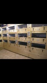 Rabbit Breeder Blocks Hutches