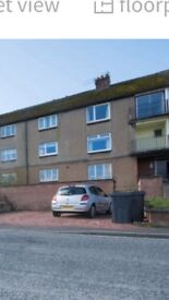 2 bedroom flat to let in Larchfield dumfries.. Bottom flat with patio and large drive. Open views