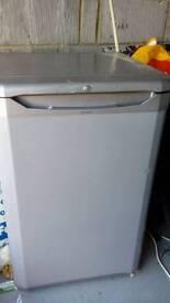 Grey under bench fridge