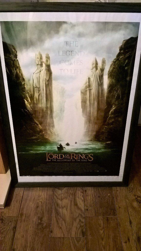 Set of 3 large film posters
