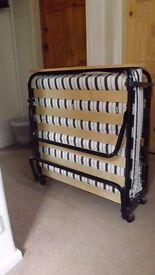 JAY-BE Jubilee single folding bed,with duel density airflow mattress