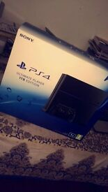 Sony PlayStation 4 Ultimate Player Edition 1 TB Black Home Console