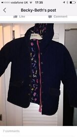 Joules coat kids