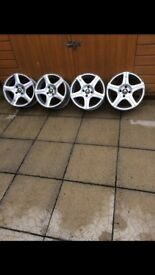 RENAULT ALLOYS FOR SALE- 15 INCH