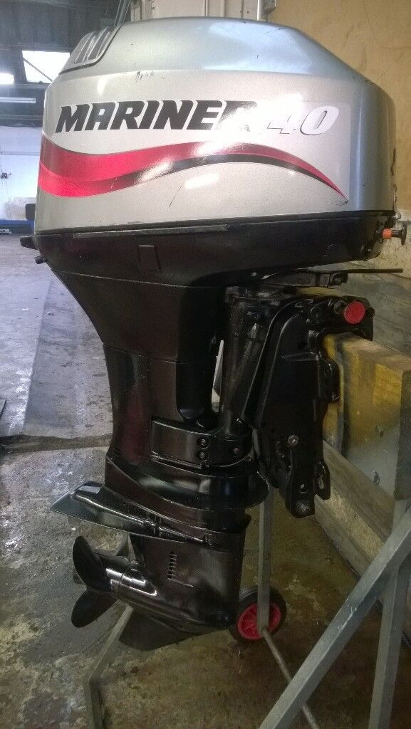 Mariner 40 hp 2 stroke Outboard Rib boat Speed Boat Engine | in Ash,  Hampshire | Gumtree