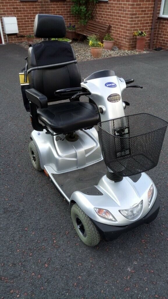 Invacare Orion Mobility Scooter - Class 3  Used  Good Condition  Silver  |  in Ponteland, Tyne and Wear | Gumtree