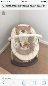 Mothercare Loved so much vibrating baby bouncer