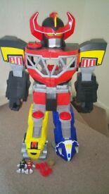 Fisher-Price Imaginext Morphine Megazord Power Ranger