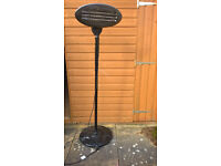 Standing Outdoor/Indoor Electric Heater -for conservatory/garden/patio