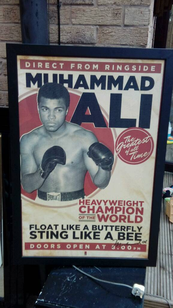 Muhammad Ali picturein Bulwell, NottinghamshireGumtree - Muhammad Ali picture excellent condition size 680x990