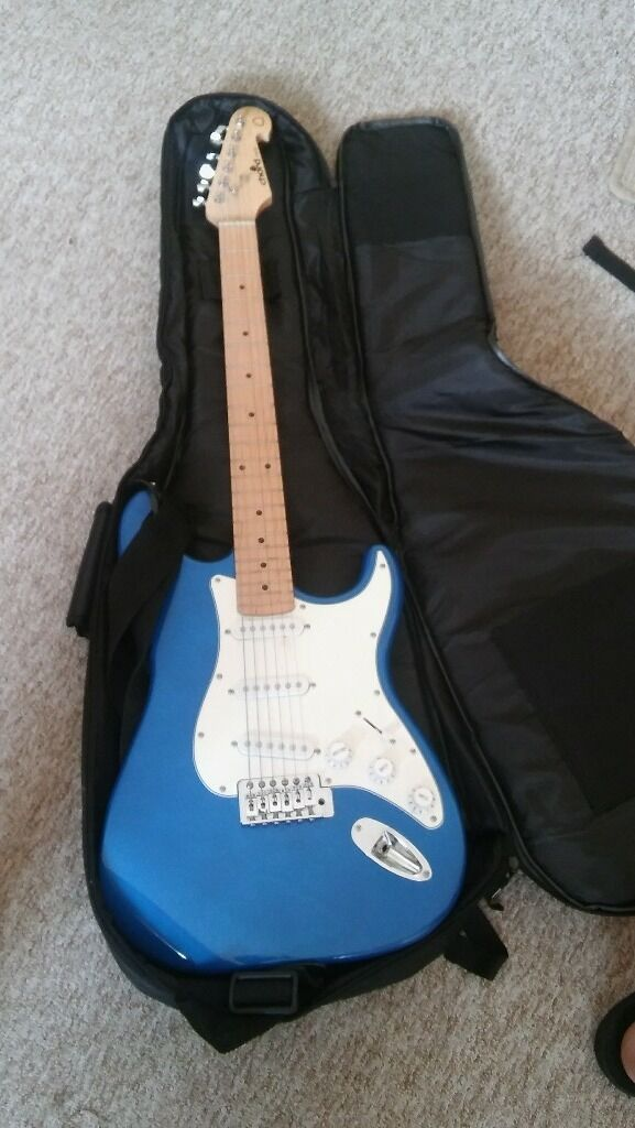 Chord CAL63 Blue Guitatin Chatham, KentGumtree - I am selling a Blue Chord CAL63 guitar which is in a really good condition. Includes a RoxTex bag, cables for the guitar and two chips. Be sure to call and ask for any information by a number 07435976996