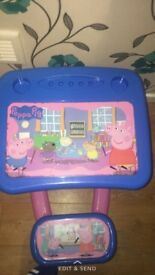 Peppa pig table