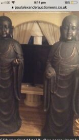Rare Buddha 7ft Statues