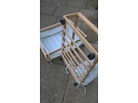 underbed storage drawers on wheels (pair)