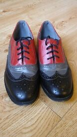 Multi-coloured Women's Brogue Shoes