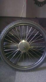 27.5 MTB rear wheel specialized ground control flakjacket
