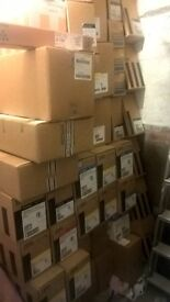 job lot new sealed ibm, rocoh toners, huge pallet load all new in date and sealed